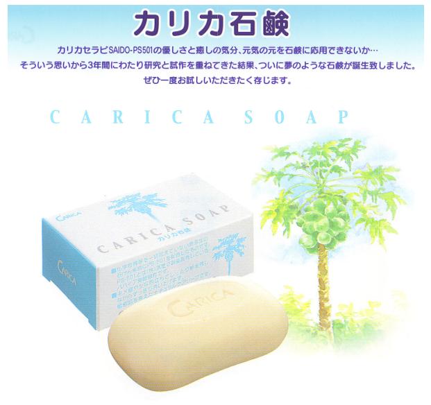 カリカセラピPS-501配合!『カリカ石鹸』